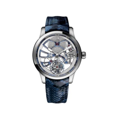 ULYSSE NARDIN CLASSIC TOURBILLON 18KT WHITE GOLD 44MM MEN'S WATCH