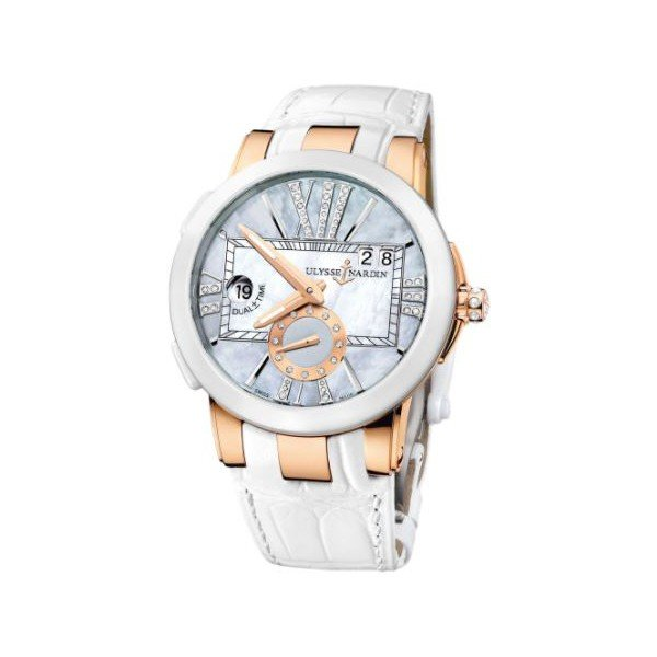 ULYSSE NARDIN EXECUTIVE 18KT ROSE GOLD 40MM LADIES WATCH
