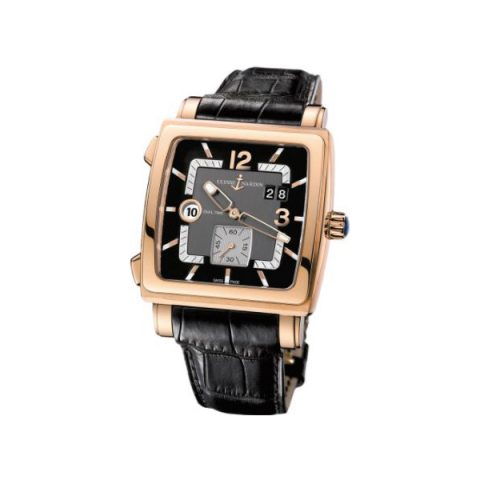 ULYSSE NARDIN QUADRATO 18KT ROSE GOLD 42MM MEN'S WATCH