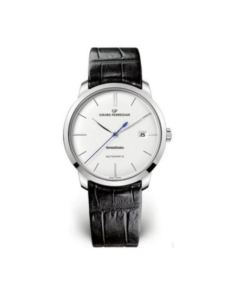 GIRARD PERREGAUX 1966 18KT WHITE GOLD 38MM MEN'S WATCH
