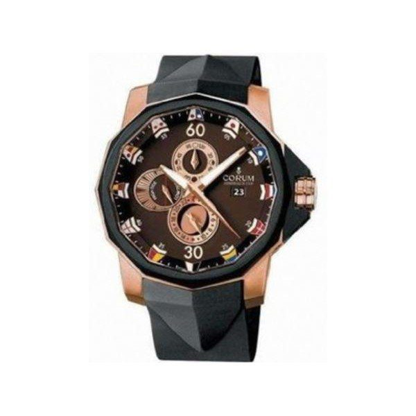 CORUM ADMIRAL'S CUP 18KT ROSE GOLD 48MM MEN'S WATCH