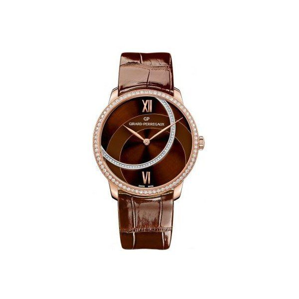 GIRARD PERREGAUX 1966 18KT ROSE GOLD 38MM LADIES WATCH