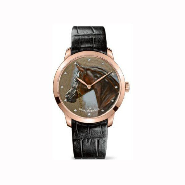 GIRARD PERREGAUX 1966 PUR SANG LIMITED EDITION 18KT ROSE GOLD 40MM MEN'S WATCH