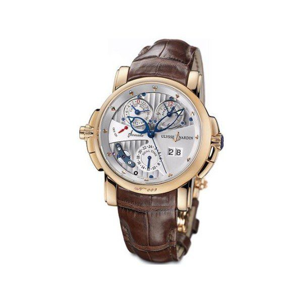 ULYSSE NARDIN SONATA 18KT ROSE GOLD 42MM MEN'S WATCH