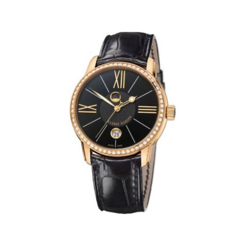 ULYSSE NARDIN CLASSICO LUNA 18KT ROSE GOLD 40MM MEN'S WATCH