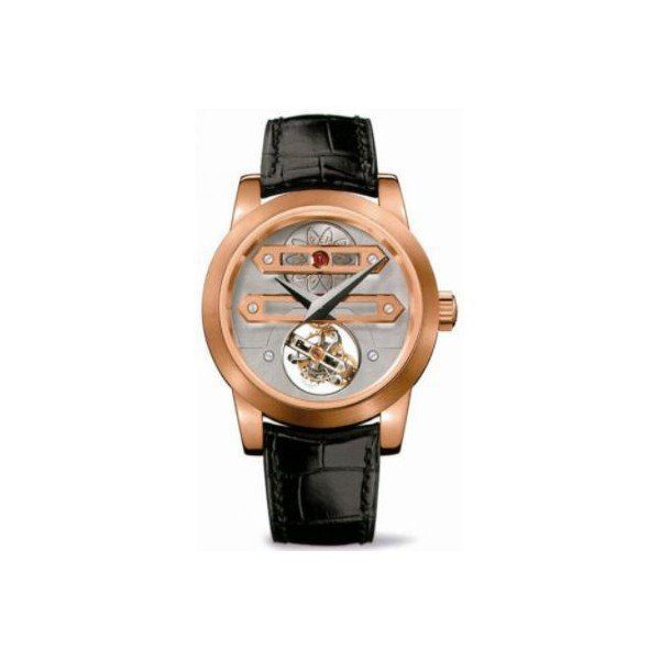 GIRARD PERREGAUX HAUTE HORLOGERIE LIMITED EDITION OF 33PCS 18KT ROSE GOLD 45MM MEN'S WATCH