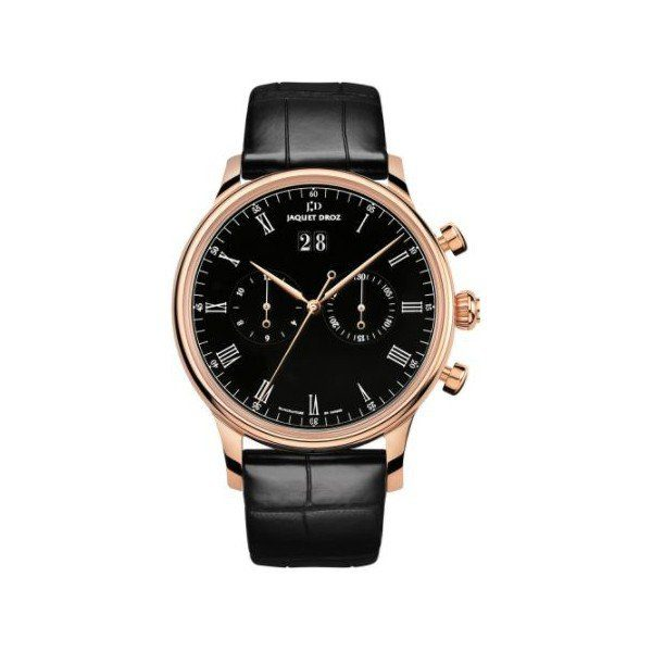 JAQEUT DROZ ASTRALE 18KT ROSE GOLD 43MM MEN'S WATCH