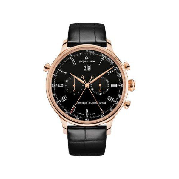 JAQUET DROZ ASTRALE RATTRAPANTE LIMITED EDITION TO 88PCS 18KT ROSE GOLD 45MM MEN'S WATCH