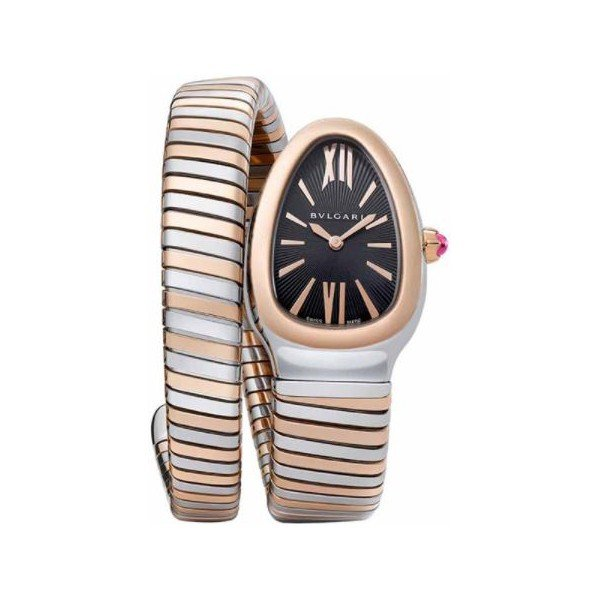 BVLGARI SERPENTI 18KT ROSE GOLD 35MM LADIES WATCH