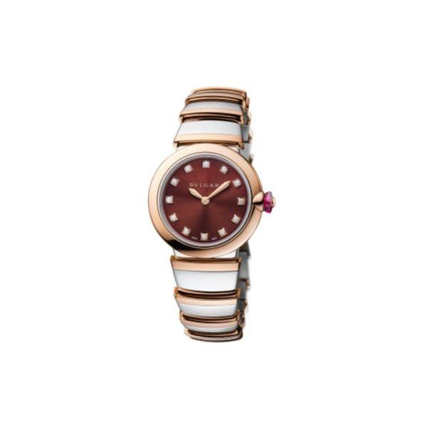 BVLGARI LVCEA 18KT ROSE GOLD 28MM LADIES WATCH