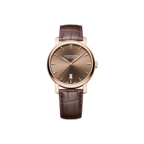 CHOPARD CLASSIC 18KT ROSE GOLD 40MM MEN'S WATCH