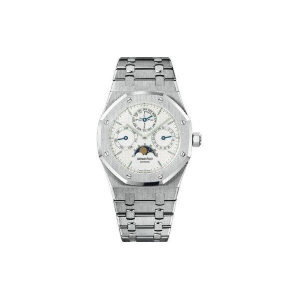 AUDEMARS PIGUET PRESTIGE SPORTS STAINLESS STEEL 39MM X 49MM SILVER DIAL MEN'S WATCH