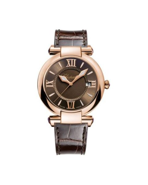 Chopard Pre-owned Imperiale 18kt Rose Gold 40mm Men's Watch