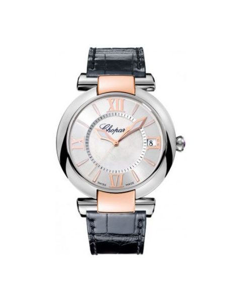 Chopard Pre-owned Imperiale Stainless Steel & 18kt Rose Gold Ladies Watch