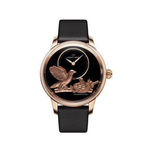 JAQUET DROZ LES ATELIERS 18KT ROSE GOLD 41MM LADIES WATCH