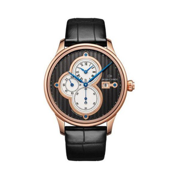 JAQUET DROZ ASTRALE 18KT ROSE GOLD 43MM MEN'S WATCH