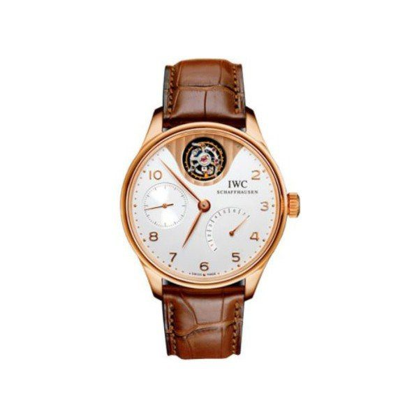 IWC TOURBILLON MYSTERE 18KT ROSE GOLD 44MM MEN'S WATCH