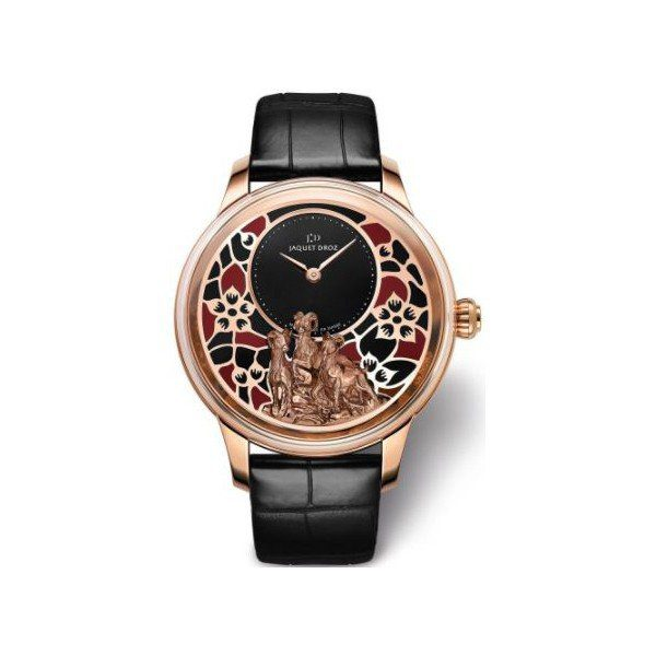 JAQUET DROZ ATELIERS 18KT ROSE GOLD 41MM MEN'S WATCH