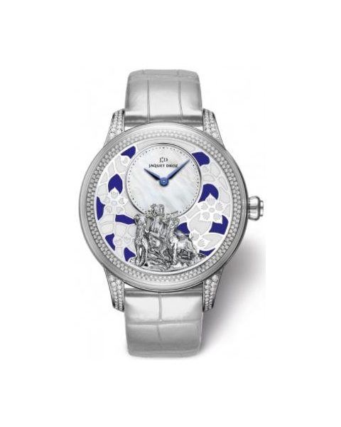 JAQUET DROZ ATELIERS LIMITED EDITION OF 28PCS 18KT WHITE GOLD 41MM LADIES WATCH