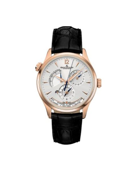 JAEGER LECOULTRE MASTER GEOGRAPHIC 18KT PINK GOLD 39MM MEN'S WATCH