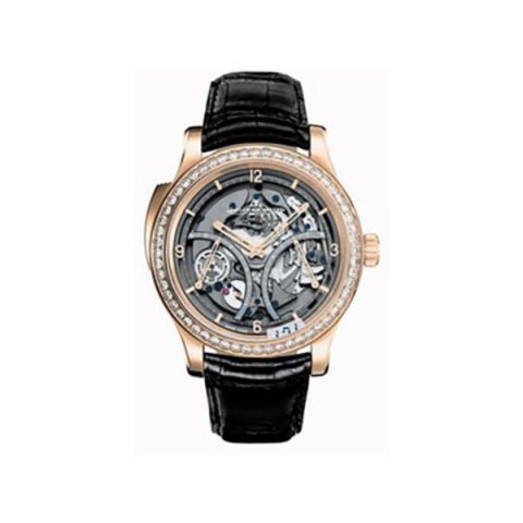 JAEGER LECOULTRE MASTER MINUTE REPEATER 18KT PINK GOLD MEN'S WATCH