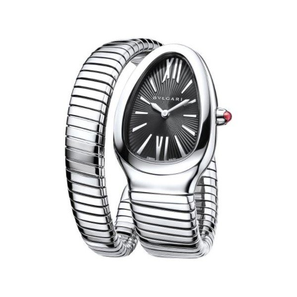 BVLGARI SERPENTI TUBOGAS STAINLESS STEEL 35MM LADIES WATCH REF. 102824