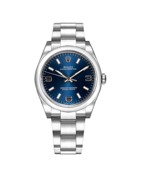 Rolex Air-king Oyster Perpetual Stainless Steel 34mm Men's Watch