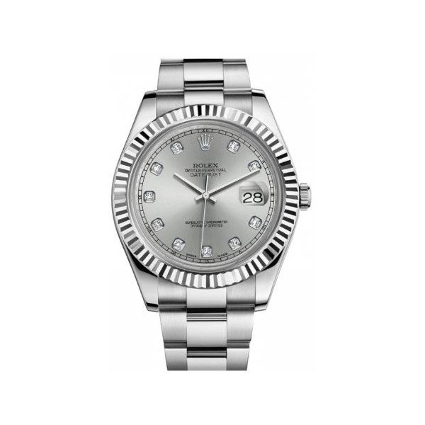 ROLEX OYSTER PERPETUAL DATEJUST II STAINLESS STEEL 41MM MEN'S WATCH