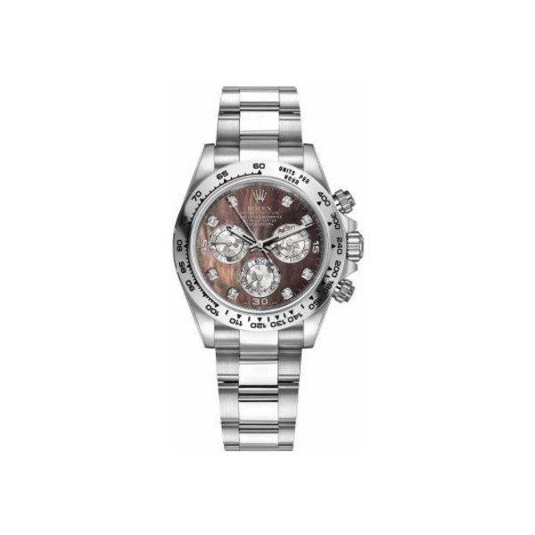 ROLEX COSMOGRAPH DAYTONA 18KT WHITE GOLD 40MM UNISEX WATCH