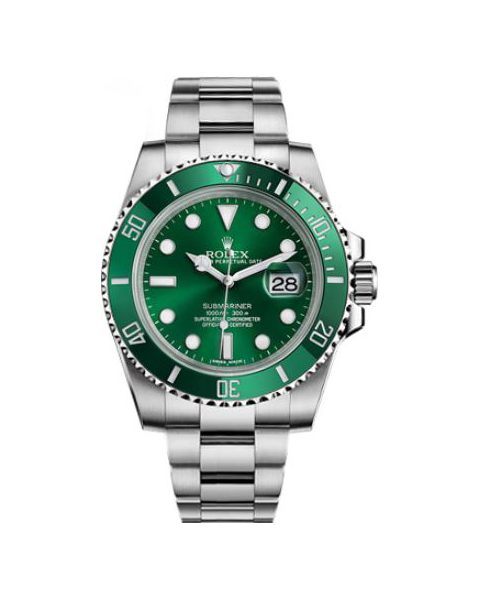 """Rolex Pre-owned Submariner Date """"Hulk"""" Oyster Perpetual 40mm Men's Watch"""