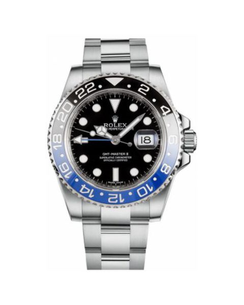 Professional Rolex Pre-owned GMT Master II Stainless Steel 40mm Men's Watch