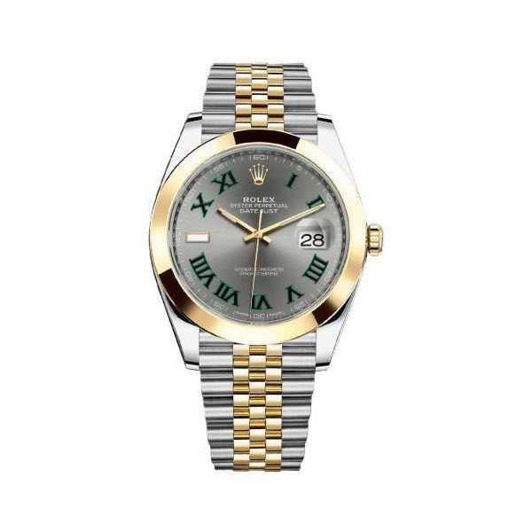 ROLEX DATEJUST STAINLESS STEEL 41MM MEN'S WATCH