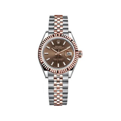 ROLEX DATEJUST STAINLESS STEEL 28MM LADIES WATCH