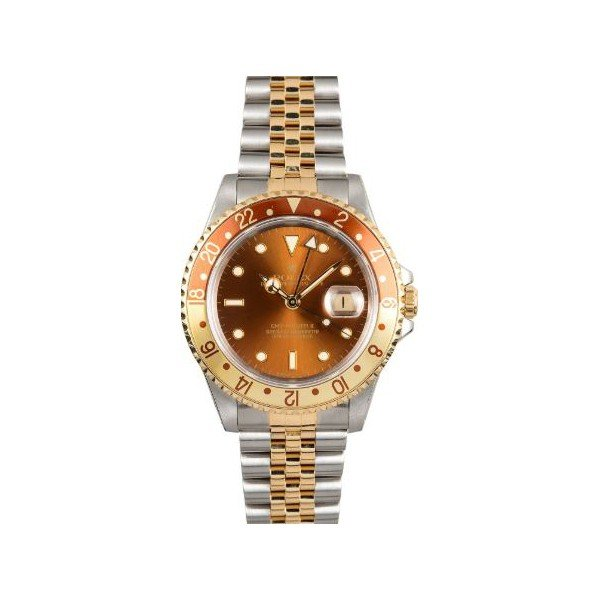 ROLEX GMT MASTER II ROOT BEER JUBILEE MEN'S WATCH