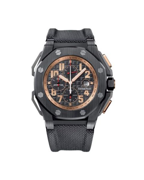AUDEMARS PIGUET ARNOLD SCHWARZENEGGER THE LEGACY CERAMIC 48MM X 55MM MEN'S WATCH
