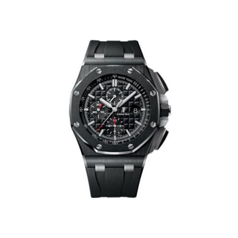 AUDEMARS PIGUET ROYAL OAK OFFSHORE BLACK CERAMIC 44MM BLACK DIAL MEN'S WATCH