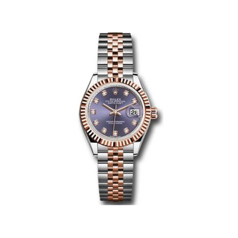 ROLEX DATEJUST 18KT ROSE GOLD 28MM LADIES WATCH
