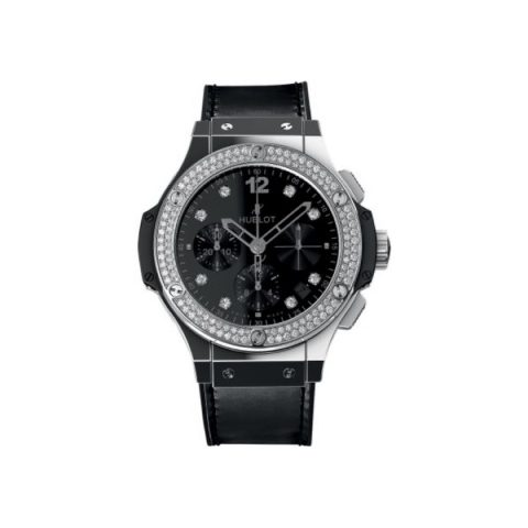 HUBLOT BIG BANG SHINY STAINLESS STEEL 41MM LADIES WATCH