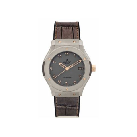 HUBLOT CLASSIC FUSION STAINLESS STEEL 42.5MM MEN'S WATCH