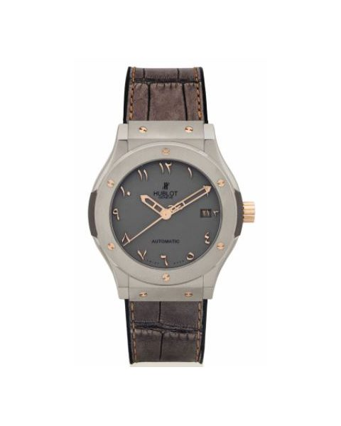 Hublot Pre-owned Classic Fusion Stainless Steel Men's Watch