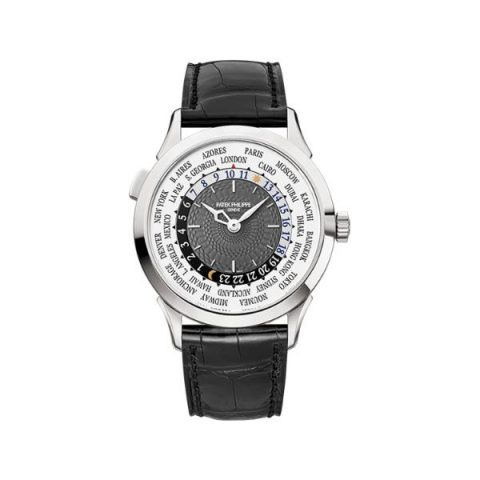PATEK PHILIPPE COMPLICATIONS 5230G-001 WHITE GOLD CHARCOAL GRAY DIAL MEN'S WATCH