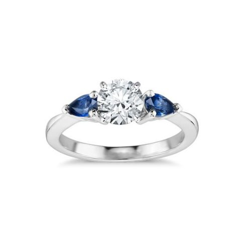 Classic Pear Shaped Sapphire