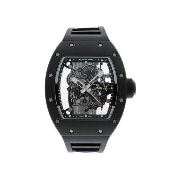 RICHARD MILLE BUBBA WATSON AMERICAS WHITE DRIVE TITANIUM 50MM MEN'S WATCH