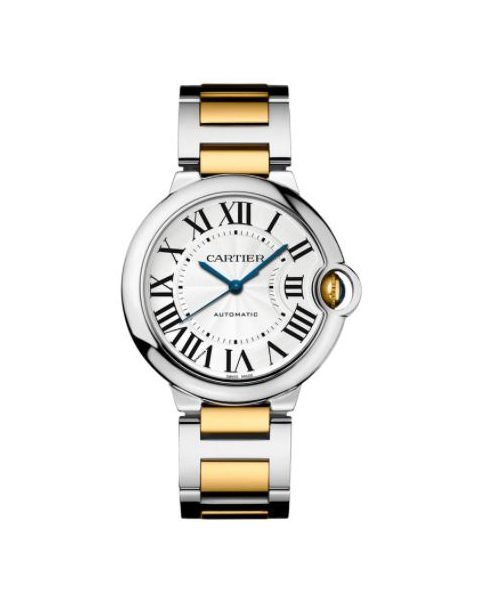 Cartier Pre-owned Ballon Bleu Stainless Steel & Yellow Gold 36mm Ladies Watch