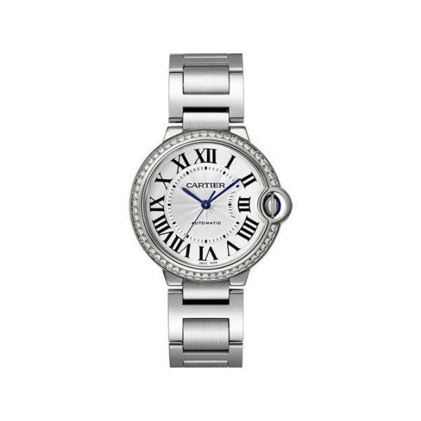 CARTIER BALLON BLEU STEEL 36MM LADIES WATCH