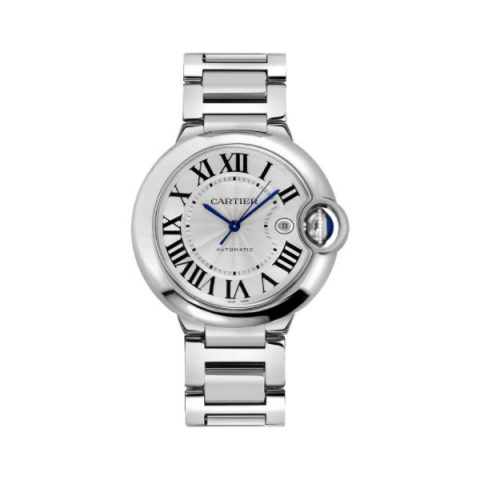 CARTIER BALLON BLEU STAINLESS STEEL 42MM LADIES WATCH