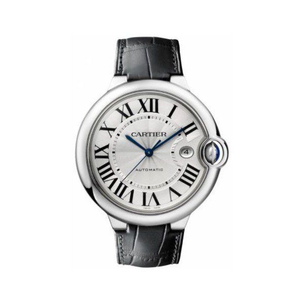 CARTIER BALLON BLEU STAINLESS STEEL 42MM MEN'S WATCH