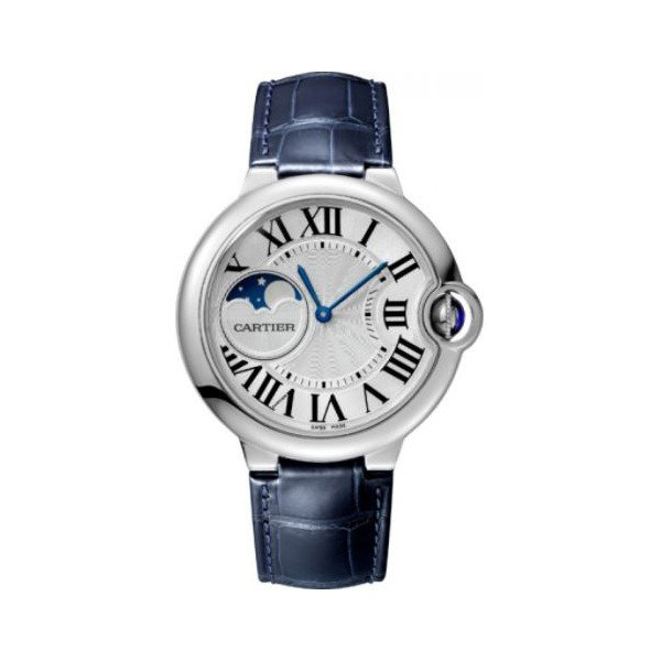 CARTIER BALLON BLEU STAINLESS STEEL 37MM LADIES WATCH