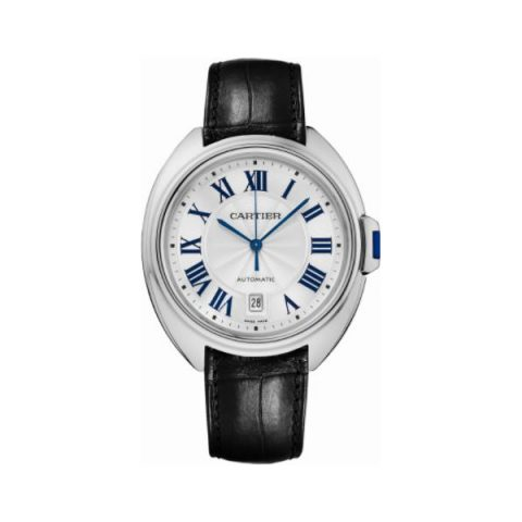 CARTIER CLE DE CARTIER STAINLESS STEEL 40MM MEN'S WATCH