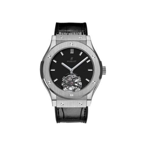 HUBLOT CLASSIC FUSION TOURBILLON TITANIUM 45MM MEN'S WATCH
